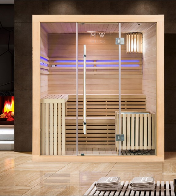finnische sauna polar light 180 x 150 traditionelle sauna. Black Bedroom Furniture Sets. Home Design Ideas