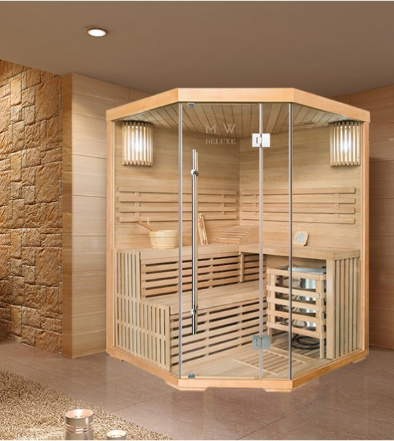 FINNISCHE SAUNA POLAR LIGHT - TRADITIONELLE SAUNA